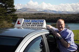 tim snow driving instructor